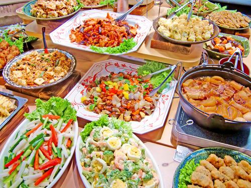 豊富なメニューから、食べたいものを 食べたいときに必要なだけ。