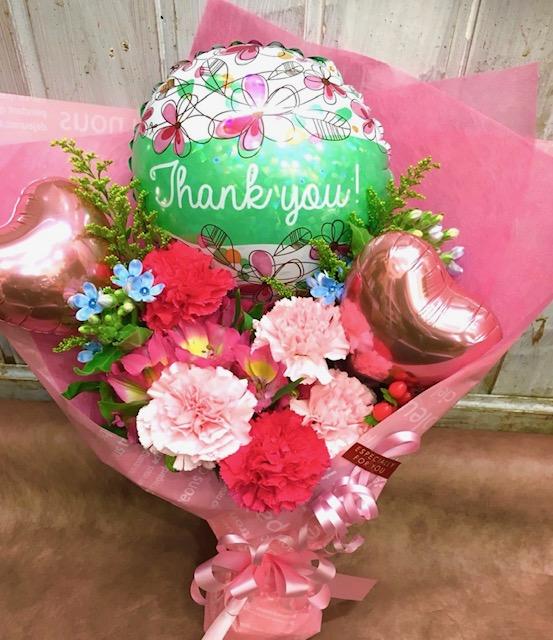 日頃の感謝をお花と一緒に