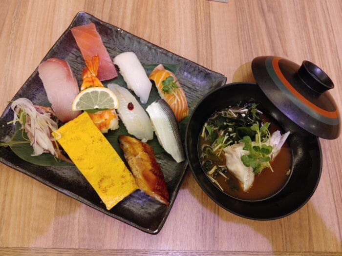 お得に美味しい寿司ランチ!